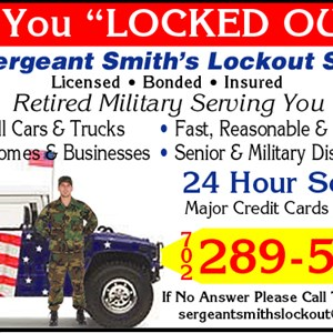 Sergeant Smiths Lockout & Roadside Svc Inc Cover Photo