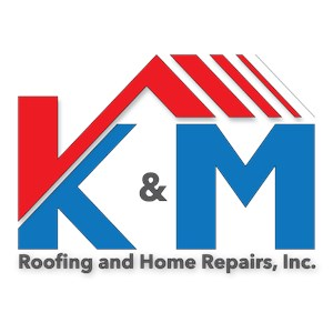 K & M Roofing And Home Repairs Logo