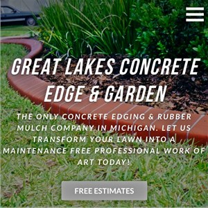 Great Lakes Concrete Edge And Garden Logo
