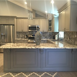 Khl Kitchen Cabinet & Granite Logo