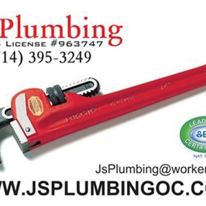 Js Plumbing Cover Photo