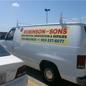 Robinson and Sons Restoration, Renovation and Repairs Logo