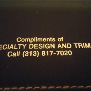 Specialty Design & Trim Logo