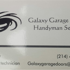 Galaxy Garage Doors Logo