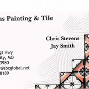 Stevens Painting and Tile Logo