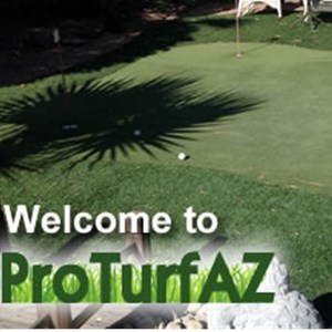 Pro Turf Artificial Grass & Putting Greens Logo