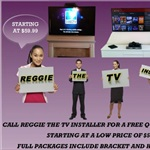 Reggie The TV Installer Cover Photo