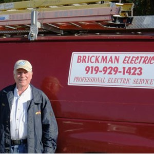 Brickman Electric Logo