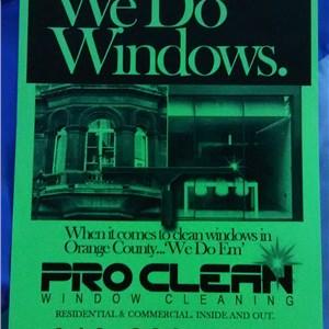 Pro Clean Window Cleaning Logo