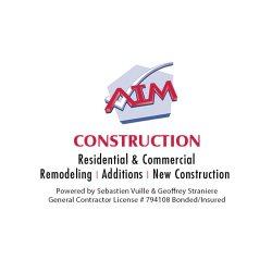 AIM Construction Logo