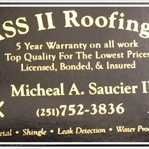Mass II Roofing Company Logo