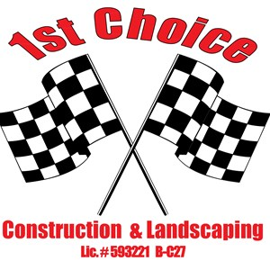 First Choice Construction & Landscaping Logo