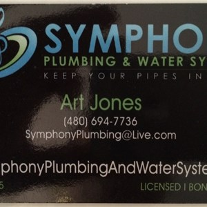 Symphony Plumbing & Water Systems Cover Photo