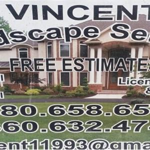 Vincent Landscape Services Logo