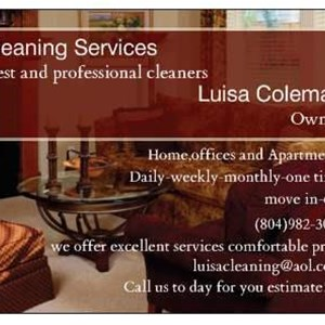 Luisas Cleaning Services LLC Logo