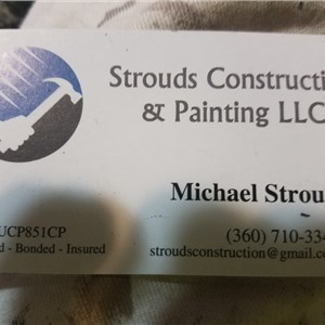 Strouds Construction & Painting LLC Cover Photo