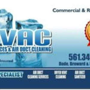 Hvac Specialists Air Duct Cleaners Logo