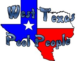 West Texas pool people Logo