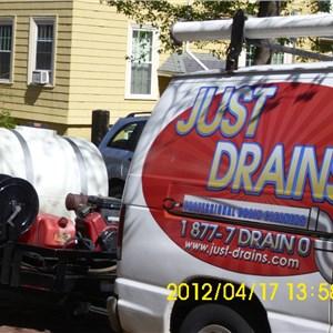 Just Drains Logo