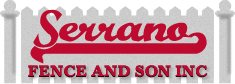 Serrano Fence & son inc Logo