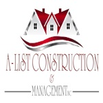 A- List Construction & Management Inc. Logo