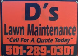 D Lawn And Maintenance Logo