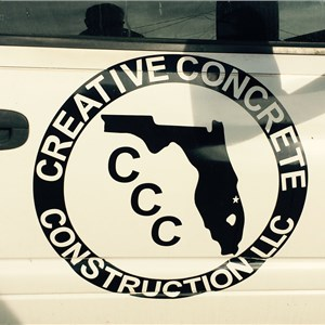 Creative Concrete LLC Logo