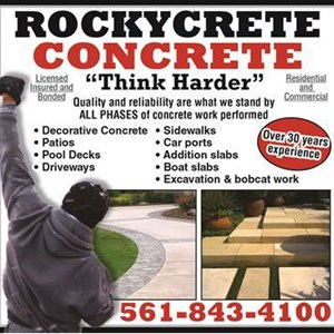 ROCKYCRETE CONCRETE Cover Photo