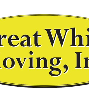 A Great White Moving & Dlvry Logo