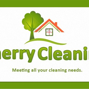 Cherry Cleaning Logo