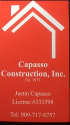 Capasso Construction Inc. Logo