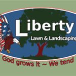 Liberty Lawn and Landscaping Logo