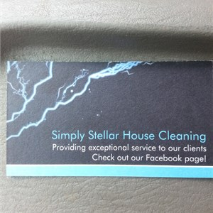 Simply Stellar Housecleaning Logo