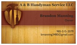 A & B Handyman Service LLC Logo