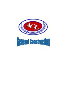 Acl Construction & Remodeling Inc Logo