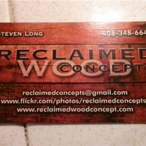 Reclaimed Wood Concepts Cover Photo