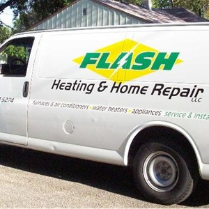 Flash Heating And Home Repair Cover Photo