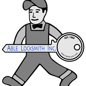 Able Locksmith INC Logo
