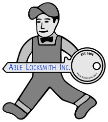 Able Locksmith INC Logo