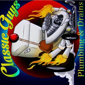 Classic Guys Plumbing & Drains Logo