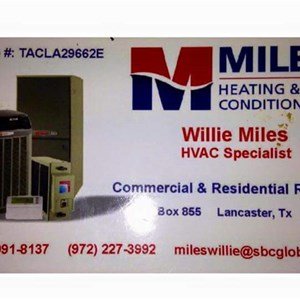 Miles A/C & Heating Company Cover Photo