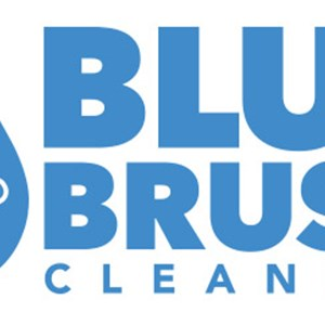 Blue Brush Cleaning Logo