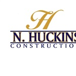 N Huckins Construction Logo