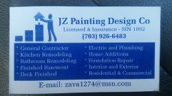 J Z Painting & Design Logo
