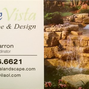Blue Vista Landscaping & Design Logo