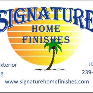 Signature Home Finishes Logo