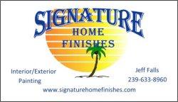 Signature Home Finishes Logo