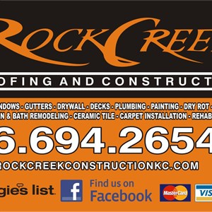 Rock Creek Roofing And Construction Logo