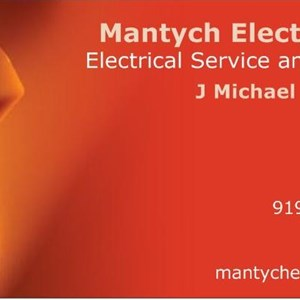 Mantych Electric, Inc. Logo