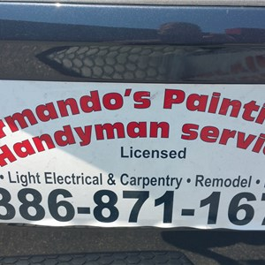 Armandos Paint And Pressure Washing Logo